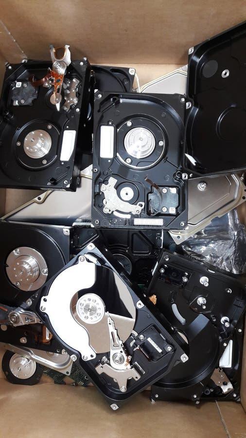 Σκληρός δίσκος που σπάζουν στοκ φωτογραφία με δικαίωμα ελεύθερης χρήσης