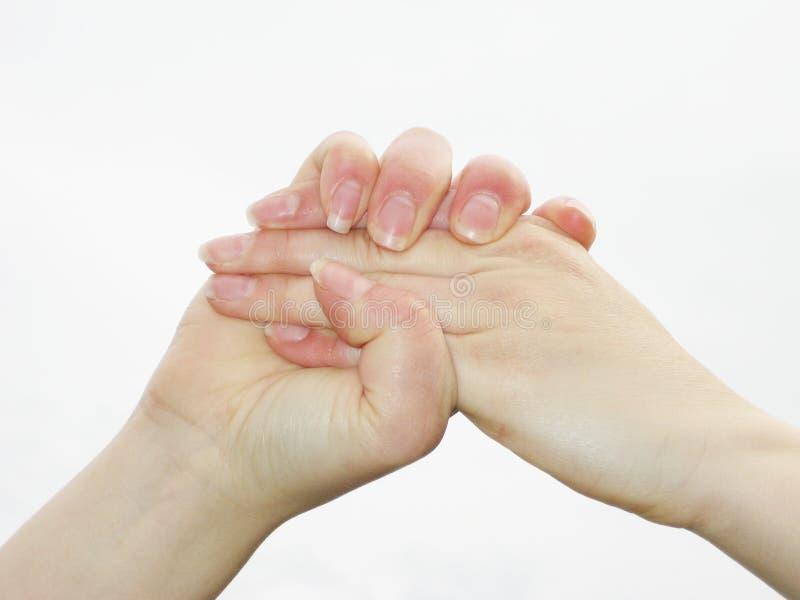 σκληρό κούνημα χεριών στοκ εικόνα με δικαίωμα ελεύθερης χρήσης