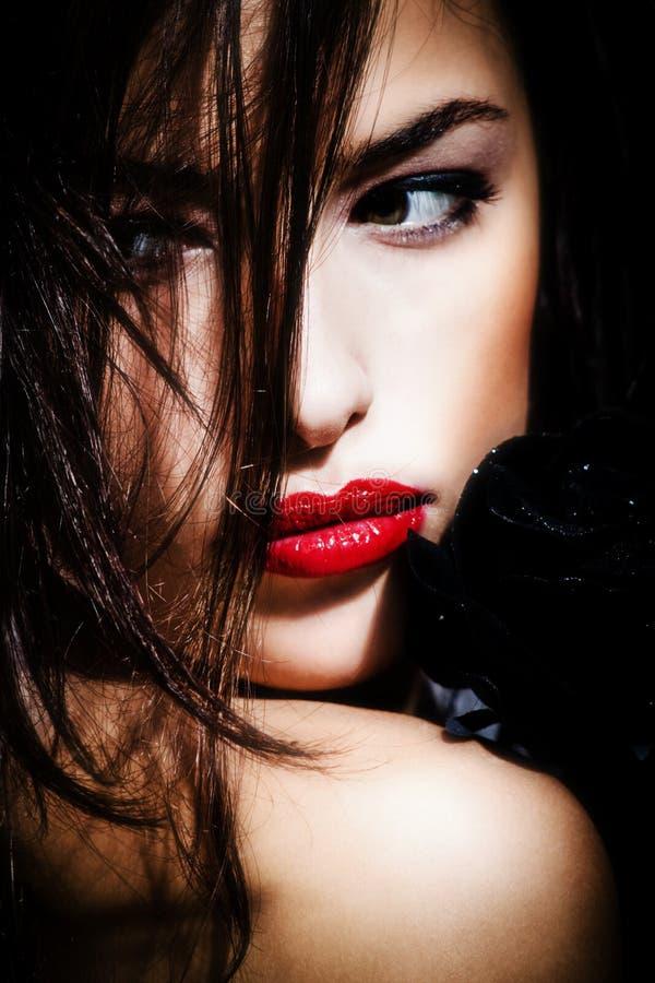 σκοτάδι ομορφιάς στοκ εικόνες με δικαίωμα ελεύθερης χρήσης