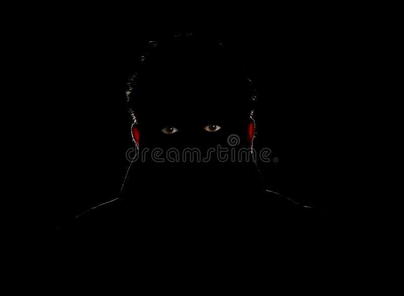 σκοτάδι πρακτόρων στοκ εικόνα