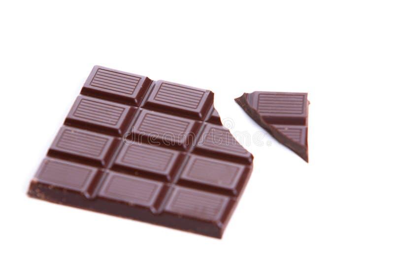 σκοτάδι σοκολάτας ράβδ&omega στοκ φωτογραφίες