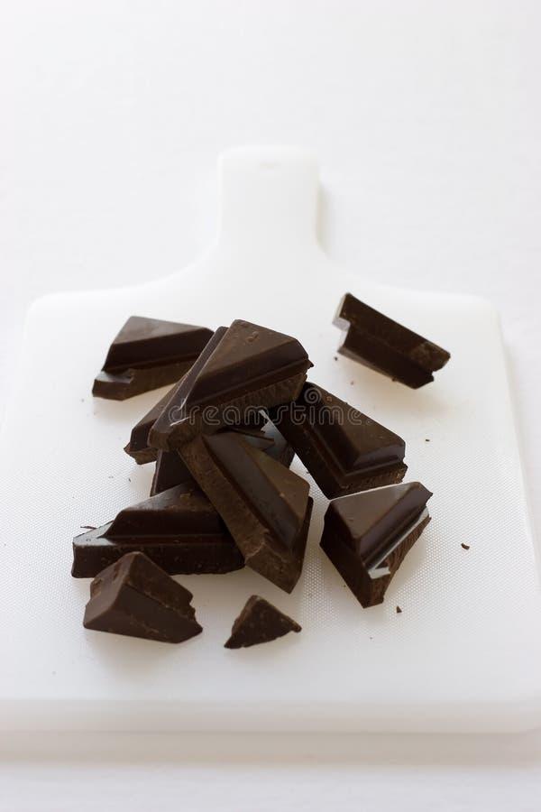 σκοτάδι σοκολάτας στοκ εικόνα