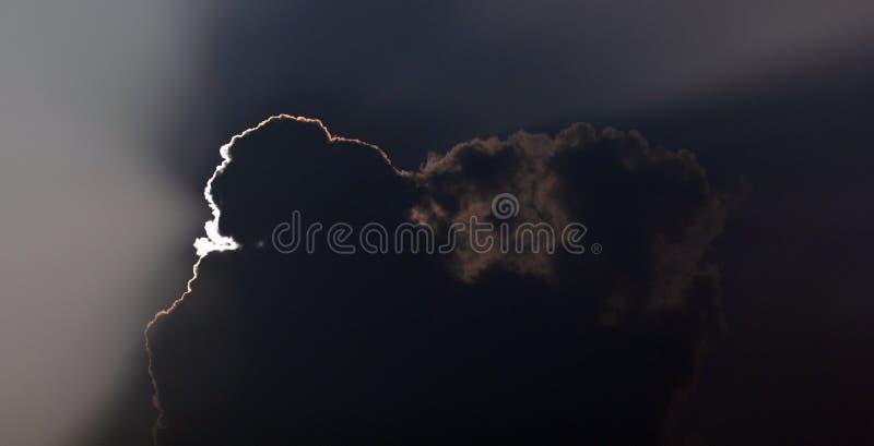 σκοτάδι σύννεφων στοκ εικόνα με δικαίωμα ελεύθερης χρήσης