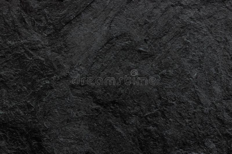 Σκοτεινή γκρίζα μαύρη υπόβαθρο ή σύσταση πλακών Μαύρη πέτρα στοκ φωτογραφία