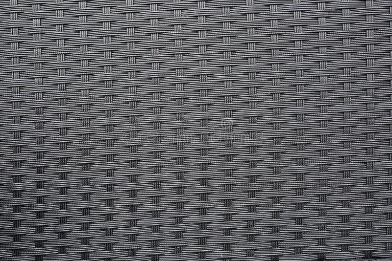 Σκοτεινή γκρίζα πλαστική σύσταση ύφανσης στοκ φωτογραφία με δικαίωμα ελεύθερης χρήσης