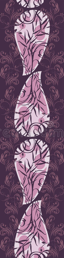 Download σκοτεινή διακοσμητική ιώδης διακόσμηση ανασκόπησης Διανυσματική απεικόνιση - εικονογραφία από seamless, καλλιτεχνικό: 22799010