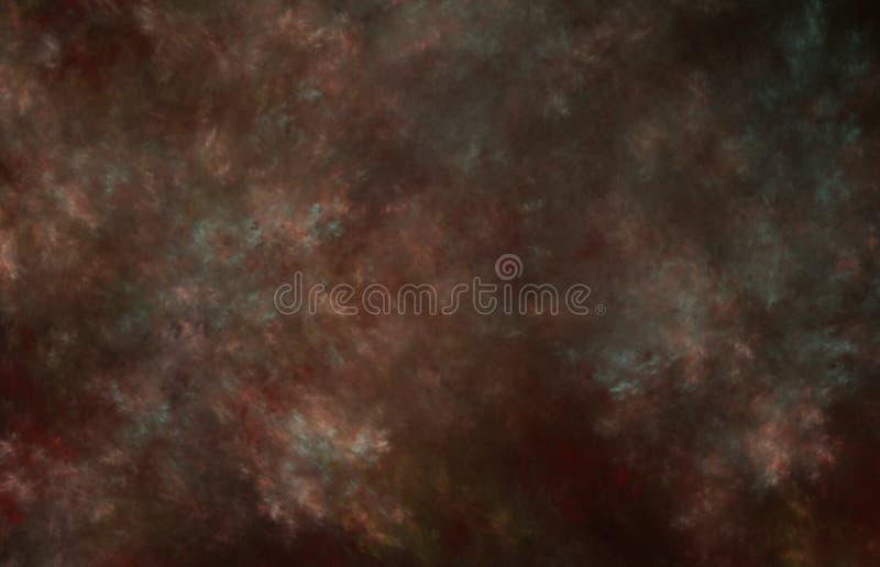 Σκοτεινή καφετιά αναδρομική υπόβαθρο ή σύσταση grunge απεικόνιση αποθεμάτων
