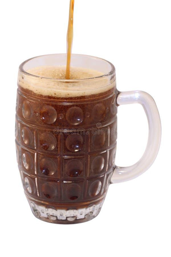 Σκοτεινή μπύρα Στοκ Εικόνες