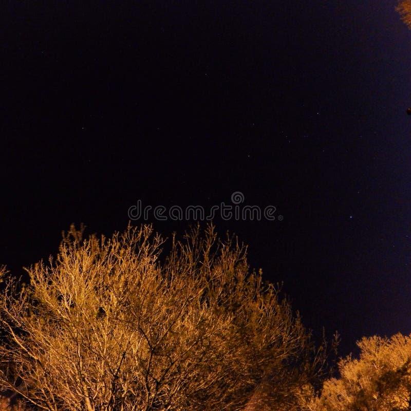 σκοτεινή νύχτα στοκ φωτογραφίες