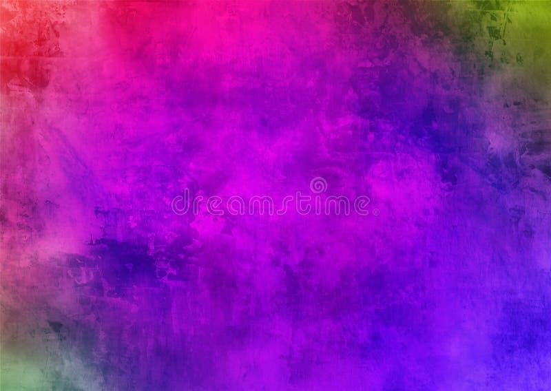 Σκοτεινή πορφυρή ιώδης απόκρυφη παλαιά διαστρεβλωμένη Grunge σκόνης Smokey αφηρημένη σχεδίων ταπετσαρία υποβάθρου σύστασης όμορφη στοκ φωτογραφίες με δικαίωμα ελεύθερης χρήσης