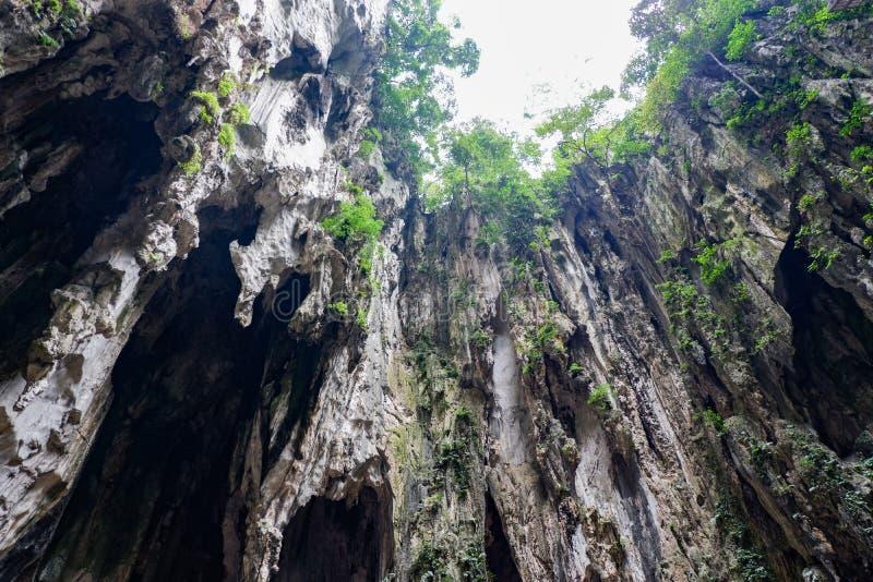 Σκοτεινή σπηλιά Batu σπηλιών, Κουάλα Λουμπούρ, Μαλαισία στοκ εικόνες με δικαίωμα ελεύθερης χρήσης