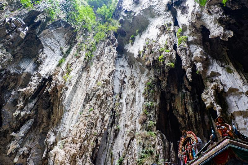 Σκοτεινή σπηλιά Batu σπηλιών, Κουάλα Λουμπούρ, Μαλαισία στοκ φωτογραφίες με δικαίωμα ελεύθερης χρήσης