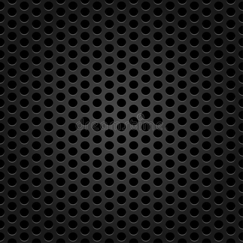 Σκοτεινή σύσταση πλέγματος μετάλλων για το υπόβαθρο διανυσματική απεικόνιση