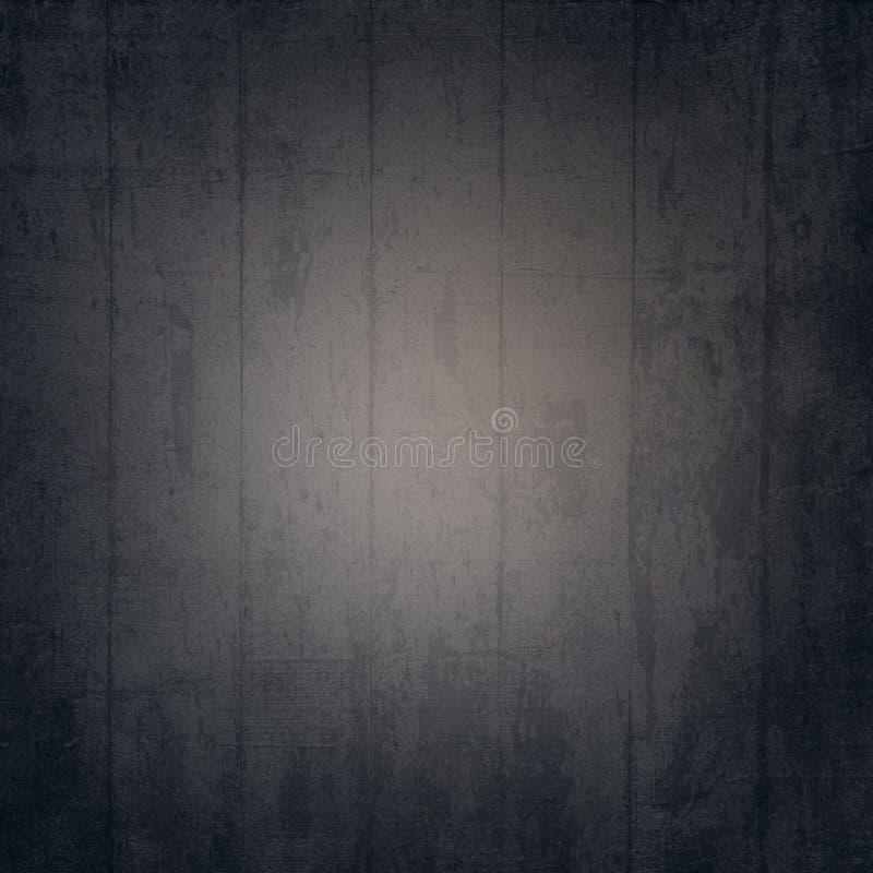 Σκοτεινή σύσταση υποβάθρου σανίδων με το ελαφρύ κέντρο ελεύθερη απεικόνιση δικαιώματος