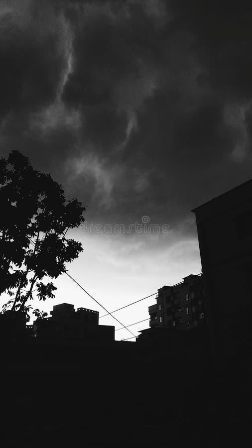 Σκοτεινός ένας darkday πράγματι στοκ εικόνες