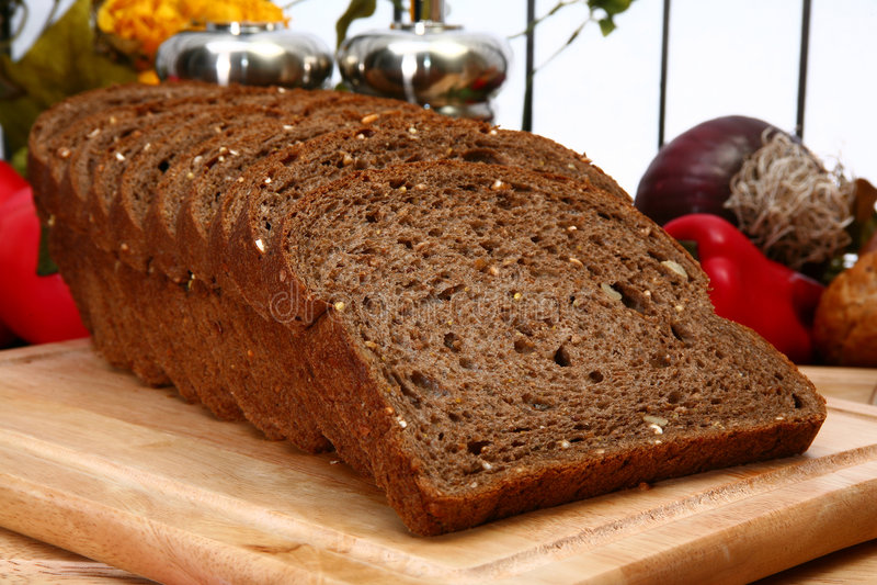 σκοτεινός σίτος ψωμιού στοκ φωτογραφία με δικαίωμα ελεύθερης χρήσης