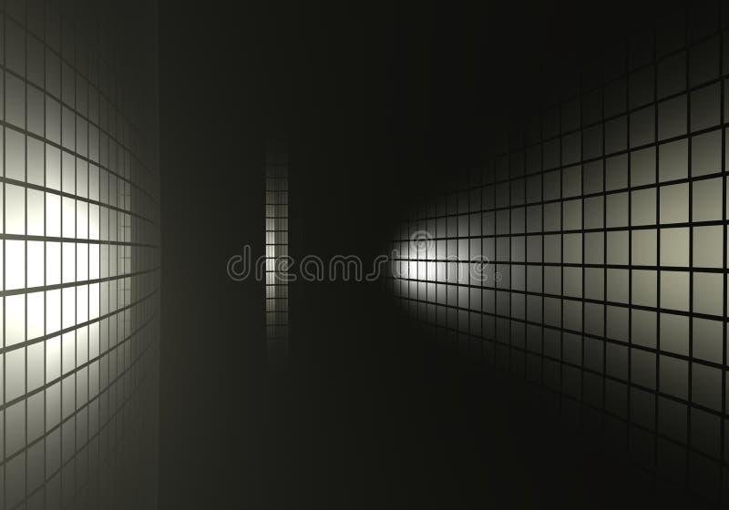 σκοτεινός σύγχρονος αν&alpha ελεύθερη απεικόνιση δικαιώματος