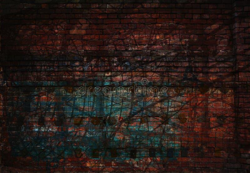 Σκοτεινό αφηρημένο υπόβαθρο grunge στοκ εικόνες με δικαίωμα ελεύθερης χρήσης
