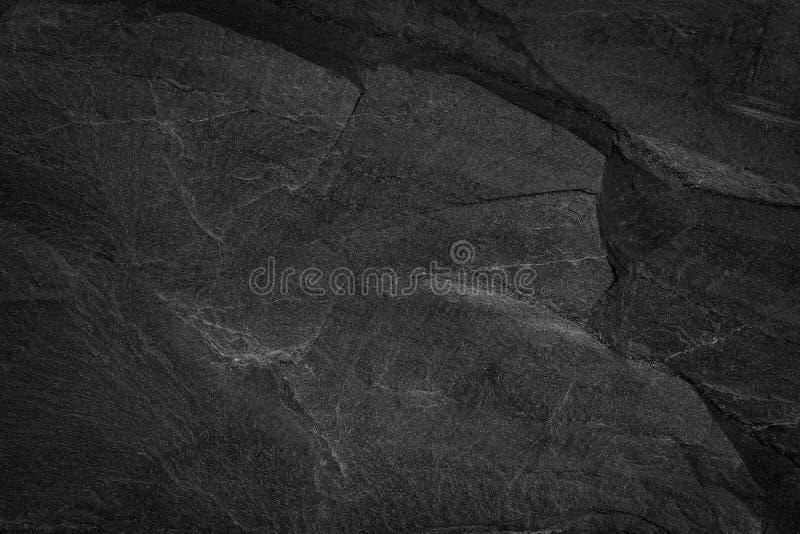 Σκοτεινό γκρίζο μαύρο υπόβαθρο πλακών ή φυσική μαύρη σύσταση πετρών στοκ φωτογραφίες