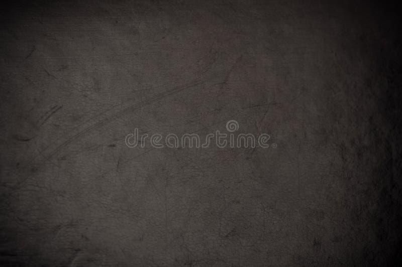 Σκοτεινό γρατσουνισμένο grunge δέρμα στοκ εικόνα με δικαίωμα ελεύθερης χρήσης
