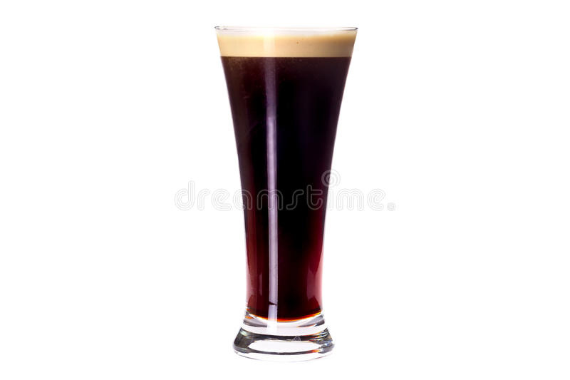 σκοτεινό γυαλί μπύρας στοκ φωτογραφία με δικαίωμα ελεύθερης χρήσης