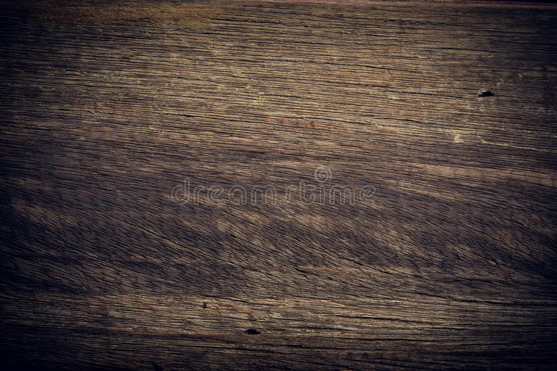 Σκοτεινό ξύλινο υπόβαθρο, ξύλινη σύσταση επιφάνειας σιταριού πινάκων τραχιά στοκ φωτογραφία
