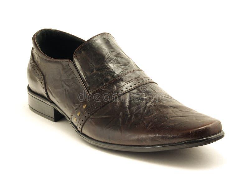σκοτεινό παπούτσι στοκ εικόνες
