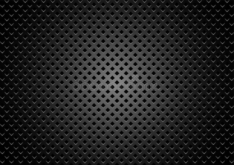 Σκοτεινό υπόβαθρο σύστασης μετάλλων διανυσματική απεικόνιση