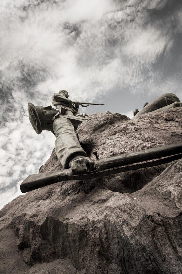σκοτωμένος στρατιώτης στοκ φωτογραφίες με δικαίωμα ελεύθερης χρήσης