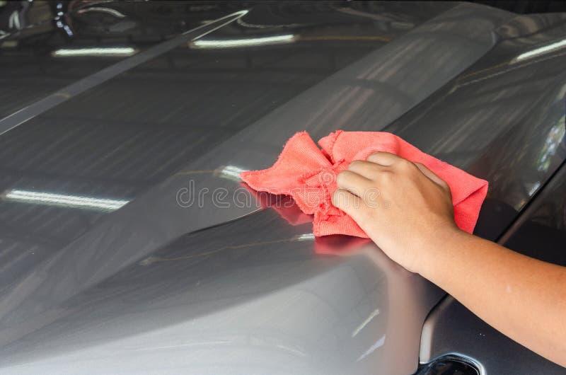 σκουπίστε το αυτοκίνητο καθαρό στοκ εικόνα με δικαίωμα ελεύθερης χρήσης