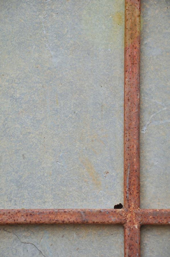 Σκουριασμένες ράβδοι σιδήρου στοκ φωτογραφίες