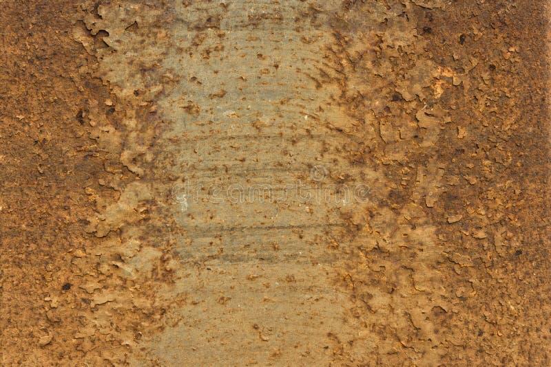Σκουριασμένη σύσταση μετάλλων - αφηρημένο υπόβαθρο ταπετσαριών στοκ εικόνα