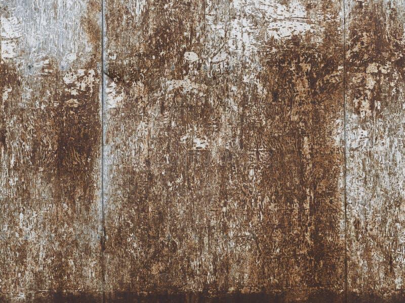 Σκουριασμένο βρώμικο μεταλλικό κατασκευασμένο υπόβαθρο επιφάνειας στοκ φωτογραφίες με δικαίωμα ελεύθερης χρήσης