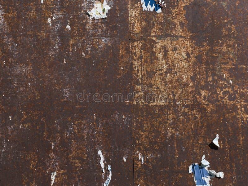 Σκουριασμένο βρώμικο μεταλλικό κατασκευασμένο υπόβαθρο επιφάνειας στοκ φωτογραφία