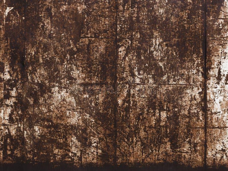 Σκουριασμένο βρώμικο μεταλλικό κατασκευασμένο υπόβαθρο επιφάνειας στοκ εικόνα με δικαίωμα ελεύθερης χρήσης