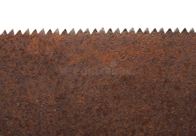 σκουριασμένο πριόνι στοκ φωτογραφία με δικαίωμα ελεύθερης χρήσης