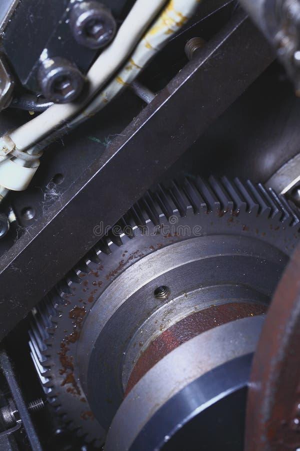 Σκουριασμένο gearwheel στη βιομηχανική τεχνολογία στοκ φωτογραφία με δικαίωμα ελεύθερης χρήσης