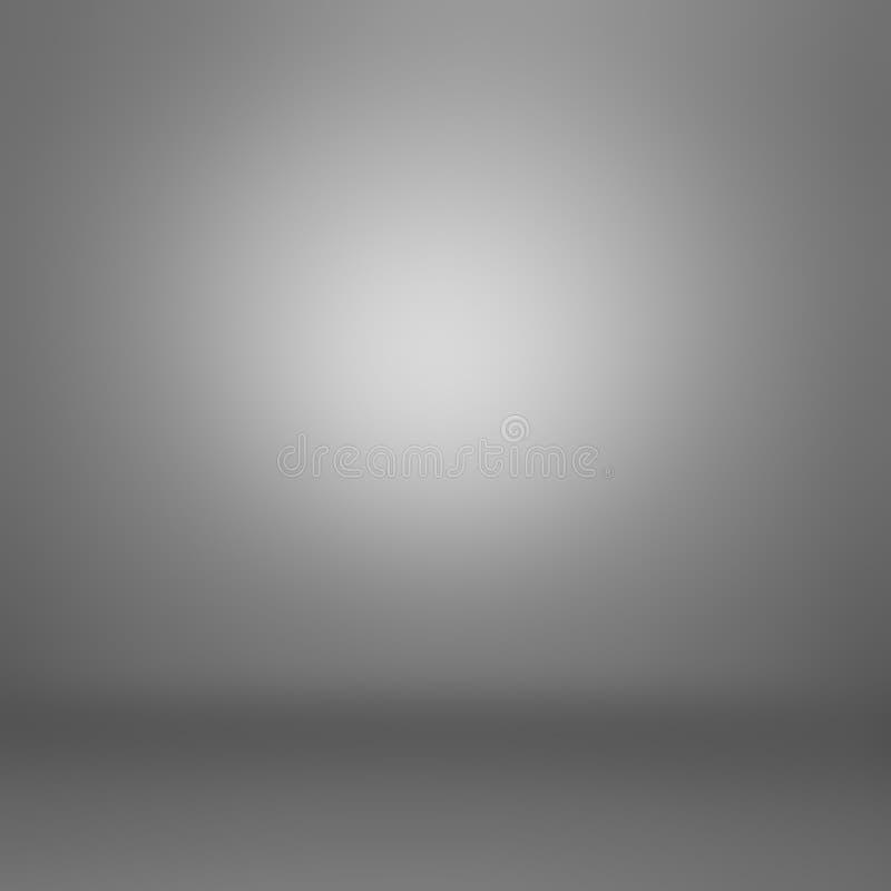Σκούρο γκρι αφηρημένο υπόβαθρο κλίσης διανυσματική απεικόνιση