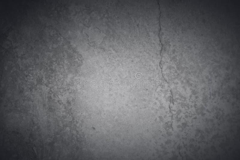 Σκούρο γκρι συγκεκριμένο υπόβαθρο στοκ φωτογραφίες