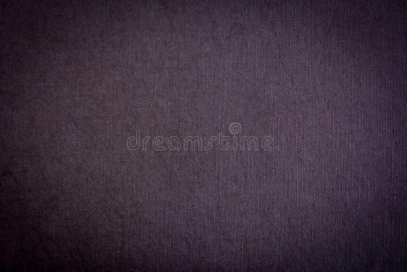Σκούρο γκρι υπόβαθρο σύστασης υφάσματος στοκ εικόνες