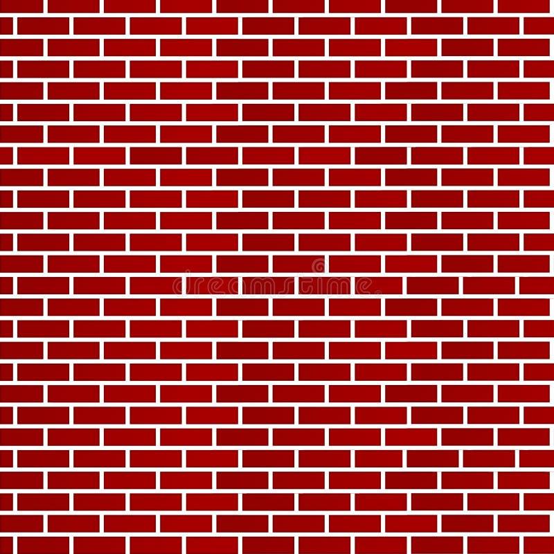 σκούρο κόκκινο τοίχος τ&omicr απεικόνιση αποθεμάτων