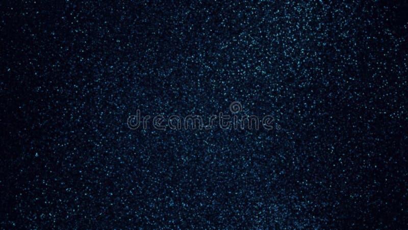 Σκούρο μπλε shimmer σύσταση Αφηρημένο υπόβαθρο σιταριών στοκ εικόνες
