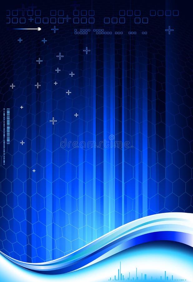 Σκούρο μπλε σύνθεση απεικόνιση αποθεμάτων