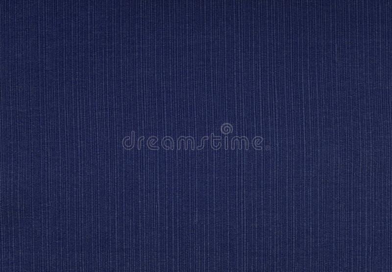 Σκούρο μπλε χονδροειδές υφαμένο υπόβαθρο υφάσματος στοκ φωτογραφίες με δικαίωμα ελεύθερης χρήσης