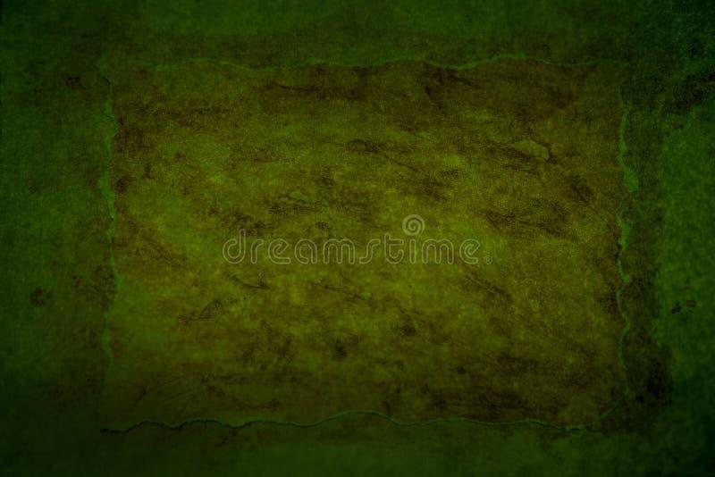 Σκούρο πράσινο βρώμικο υπόβαθρο στοκ εικόνες