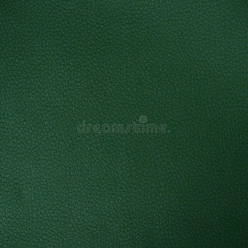 Σκούρο πράσινο σύσταση δέρματος στοκ εικόνα με δικαίωμα ελεύθερης χρήσης