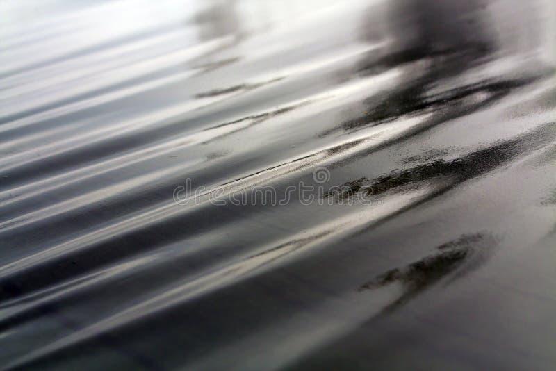 Σκούρο πράσινο υγρό awning στον αέρα στοκ φωτογραφίες με δικαίωμα ελεύθερης χρήσης