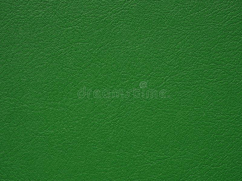 Σκούρο πράσινο χρωματισμένη σύσταση δέρματος στοκ φωτογραφία