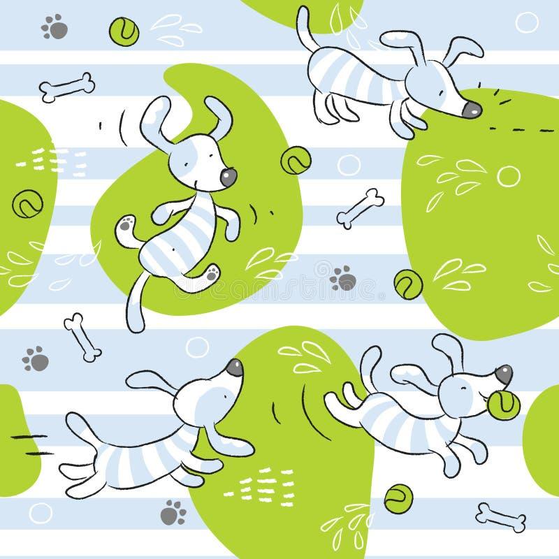 σκυλί ανασκόπησης μωρών ελεύθερη απεικόνιση δικαιώματος
