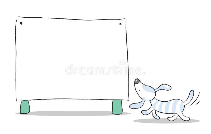 σκυλί κινούμενων σχεδίων ελεύθερη απεικόνιση δικαιώματος